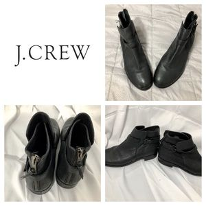 J Crew Pebbled Leather Emmett Boot